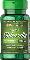 Natural Chinese Chlorella 500 mg
