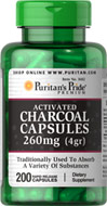 Charcoal (Activated) 260 mg
