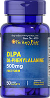 DLPA (DL-Phenylalanine) 500 mg