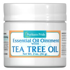 Tea Tree Oil Ointment <p>Tea Tree Oil Ointment is a blend of moisturizing essential oils and tea tree oil - which has been traditionally used as a topical agent for the skin.</p> 2 oz Ointment  $9.99