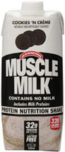 Muscle Milk RTD Nutritional Shake Cookies & Cream