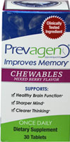 Prevagen® 10 mg Mixed Berry Chewables