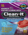 Clean-It Denture Cleansing Wipes