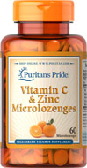 Vitamin C 300 mg & Zinc Microlozenges