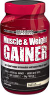 Muscle & Weight Gainer Vanilla <p>Precision Engineered Muscle & Weight Gainer is a true champion grade formulation with more protein, vitamins, minerals and amino acids than most other weight gain powders.</p> 3 lbs Powder  $24.99