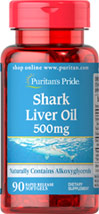 Shark Liver Oil 500 mg
