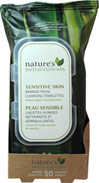 Sensitive Skin Bamboo Facial Cleansing Wipes