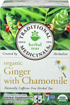 Organic Ginger with Chamomile Tea