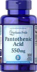 Pantothenic Acid 500 mg Timed Release