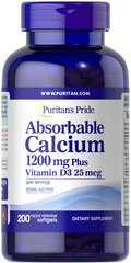 Absorbable Calcium 1200 mg with Vitamin D3 1000 IU