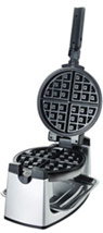 Stainless Steel Rotary Belgian Waffle Maker