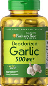 Deodorized Garlic 500 mg