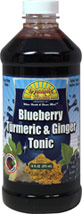 Blueberry, Turmeric & Ginger Tonic