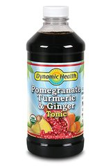 Pomegranate, Turmeric & Ginger Tonic