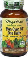 Men Over 40™ One Daily Whole Food Multivitamin & Mineral Supplement