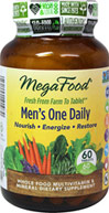 Men's One Daily™ Whole Food Multivitamin & Mineral Supplement