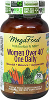 Women Over 40™ One Daily Whole Food Mulvitamin & Mineral Supplement