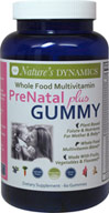 PreNatal Plus Whole Food Multivitamin Gummy