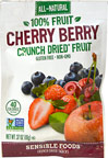 Cherry Berry Crunch Dried Fruit Snack