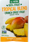 Tropical Blend Crunch Dried Fruit Snack