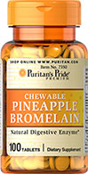 Pineapple Bromelain Chewables