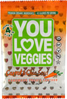 Carrot Chia Seed Veggie Leather
