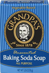 Unscented Baking Soda Soap