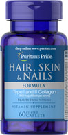 Hair, Skin & Nails Formula  60 Caplets N/A 10.49