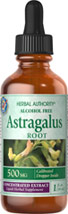 Astragalus Liquid Extract Alcohol Free 500 mg <p>Astragalus is a member of the pea family, native to northeast China, where the root is called huang-qi.  The name huang-qi means yellow leader because it is considered to be a superior herb.  Available in Alcohol Free Liquid Herbal Extract.</p> 1 fl oz Liquid 500 mg $10.99
