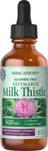Milk Thistle Liquid Extract 500 mg <p>Milk Thistle is derived from a purple flower that you may see growing in the wild. The exceptional benefits of this concentrated herb are due to its powerful antioxidant properties, which help to optimize health and well being.**</p><p>Milk Thistle contains beneficial flavonoids and antioxidants that may promote the action of nucleolar polymerase A, for increased ribosomal protein synthesis.**</p><p>This bottle contains 100% pur
