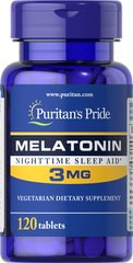 Melatonin 3 mg  120 Tablets 3 5.99