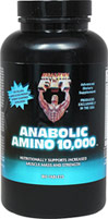 Anabolic Amino 10,000 <p><b>From the Manufacturer's Label: </p></b><p>We are proud to bring you Anabolic Amino 10,000 from Healthy N Fit.  Look to Puritan's Pride for high quality national brands and great nutrition at the best possible prices.</p> 180 Tablets  $13.99