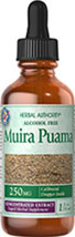 Muira Puama 250 mg <p>Goodness from the Rain Forest</p><p>This exceptional herb has been used in South America. It is primarily known as an herb for men.<br /></p> 1 fl oz Liquid 250 mg $9.99