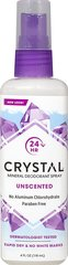 Crystal® Body Deodorant Spray <p><b>From the Manufacturer's Label: </p></b><p>Natural Deodorant Protection! Crystal Body  Deodorant® is made of Natural Mineral Salts which prevent body odor by creating an invisible protective barrier against odor-causing bacteria. It is non-sticky, non-staining, leaves no white residue and can be used by both men and women.</p><p>Manufactured by Crystal® Body Deodorant.</p>   <p>Parab