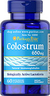 Colostrum 650 mg