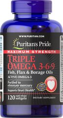 Maximum Strength Triple Omega 3-6-9