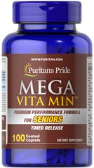 Mega Vita Min™ Multivitamin for Seniors Timed Release