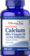 Calcium 600 + Vitamin D3 with Soy Isoflavones