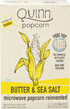 Butter & Sea Salt Microwave Popcorn