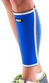 Extra Thick Warming Calf Compression Sleeve Blue Large