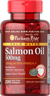 Omega-3 Salmon Oil 500 mg