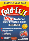 Cold-EEZE® Plus Natural Symptom Relief Cold & Flu