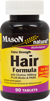 Extra Strength Hair Formula with Choline