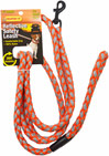 Orange Reflective Safety Leash for small dogs