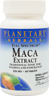 Full Spectrum Maca Extract 325 mg .6% Glucosinolates