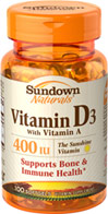 Vitamin D3 with Vitamin A