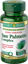 Extra Strength Standardized Saw Palmetto Complex 160 mg