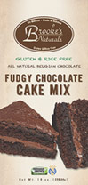 Gluten Free Fudgy Chocolate Cake Mix