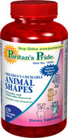 Children's Chewable Animal Shapes Multivitamins
