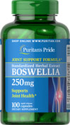 Boswellia Standardized Extract 250 mg